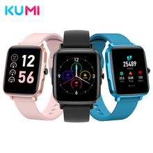 Smartwatch Android Smart-Bracelet-Band Fitness Kumi Ku1 IP68 Global-Version Sleep-Monitor