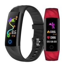 S5 Smart Bracelet Fitness Tracker Waterproof Wristband Heart Monitor Activity Blood pulseira Pk mi band 4
