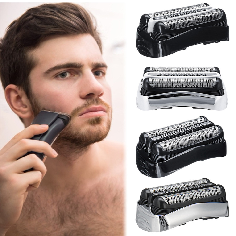 NEW 32B New Personal Care Portable Accessories Male Electric Shaver Foil Head For Braun Series 3 320S 330 380 350 370CC 3020S