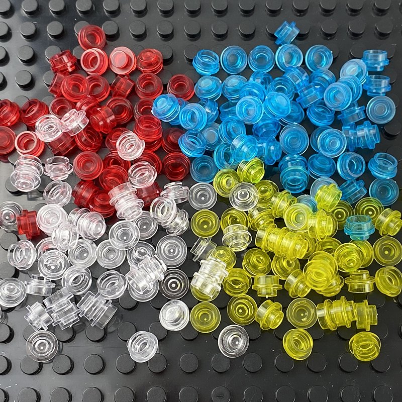 500pcs 1x1 Dot Size DIY Building Blocks Thin Figures Lamp Bricks Creative Educational Toy for Children Compatible All Brand 4073