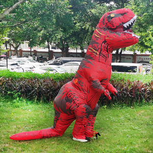 Image 3 - Adult Inflatable Dinosaur Costume T REX  Cosplay Party Costum Halloween Costumes for Men Women Anime Fancy Dress Suit