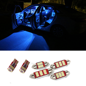 LED Interior Light Kit Canbus Error Free Bulbs Map Dome Lamp For Toyota RAV4 2001-2013 2014 2015 2016 2017 2018 2019 image