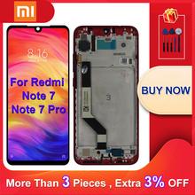 10 dotykowy oryginalny dla Xiaomi Redmi Note 7 wyświetlacz LCD ekran dotykowy dla Redmi Note 7 Pro LCD części zamienne z ramą tanie tanio CN (pochodzenie) Pojemnościowy ekran 2160*1080 3 For Xiaomi Redmi Note 7 Note 7 Pro LCD i ekran dotykowy Digitizer