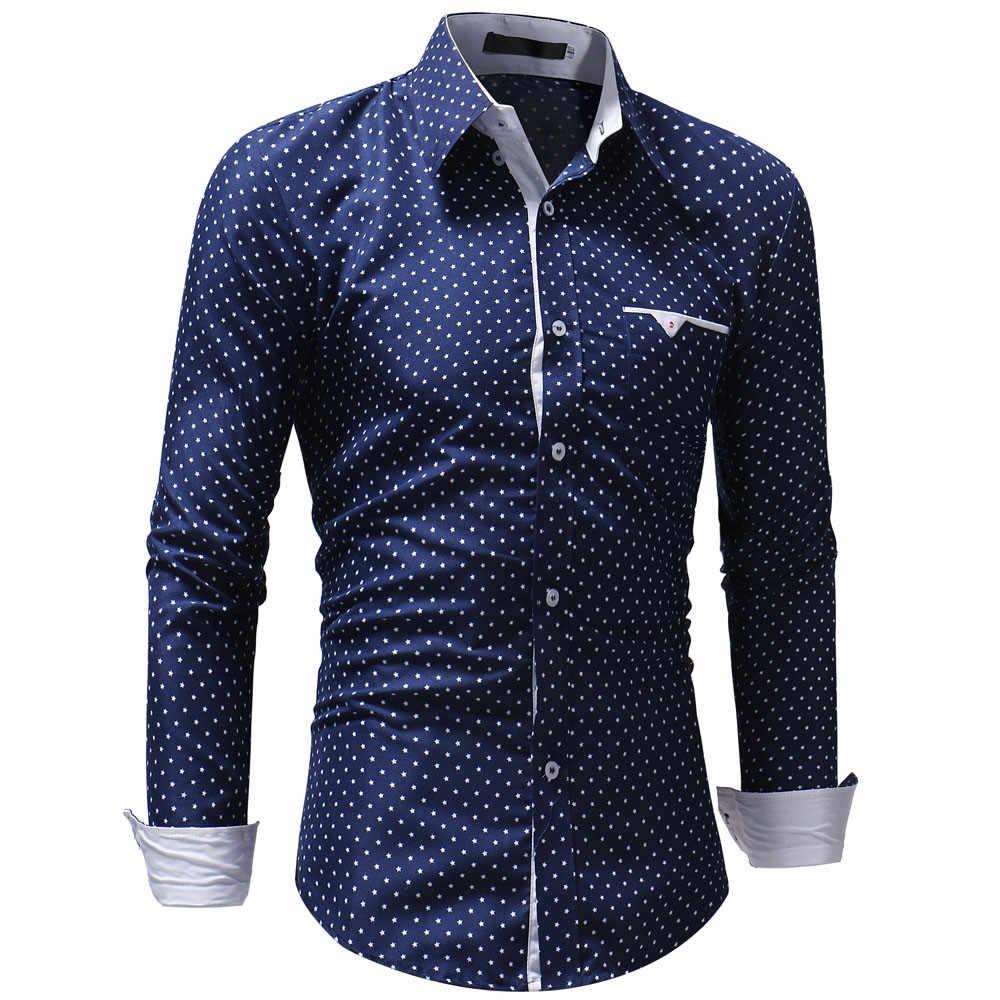 2020 남자 짧은 스타일 가을 격자 무늬 따뜻한 캐주얼 긴팔 셔츠 블라우스 탑 셔츠 남자 드레스 하와이 플러스 사이즈 camisas hombre