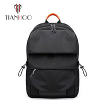 TIANHOO High Quality Large capacity backpack men's casual student bag with USB charging computer bags(China)