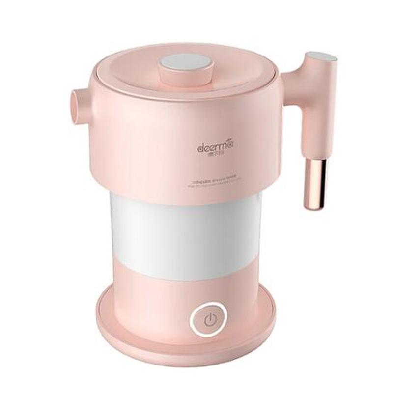 XIAOMI Deerma Household Folding Electric Kettle Outdoor Travel Small Mini Portable XIAOMI Electric Kettle 0.6L 2