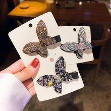 Женские шпильки с милыми бабочками заколки для волос из сплава