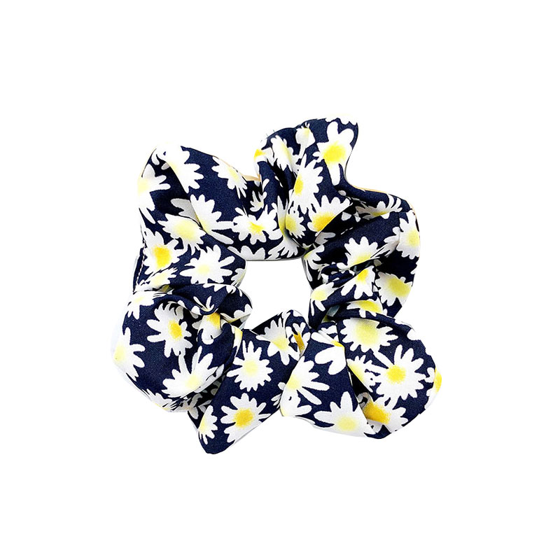 2019 Sweet Floral Scrunchies For Women Elastic Hair Bands Fashion Creative Hair Ties Girls Hair Accessories Headwear Rubber Band