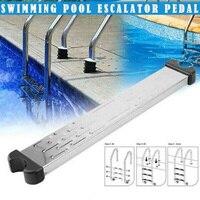 304/316 Stainless Steel Pool Ladders Pedal Screws Rust proof Portable