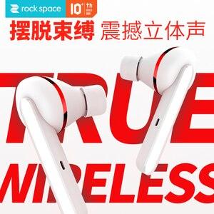 Image 3 - Rocha verdadeiro fone de ouvido estéreo sem fio à prova dtwágua 5.0 bluetooth tws fones com caixa carregamento para iphone 11 huawei xiaomi