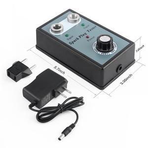 Image 4 - רכב מצת בודק הצתה בודקי רכב אבחון כלי כפול חור Analyzer עבור 12V רכב בנזין בנזין רכב