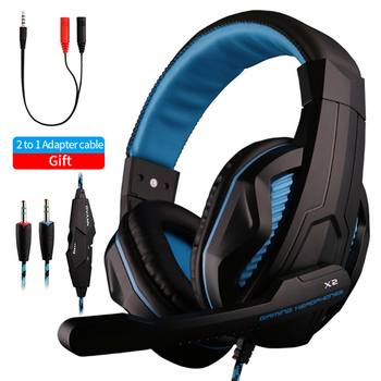 High-End Gamer Headset Noise Cancelling Super Bass Stereo PC Computer Gaming Headphones Earphone Mic Advanced Control for PC PS4 somic g954 usb 7 1 gaming headset headphones with microphone noise cancelling stereo bass vibration led light for pc ps4 gamer