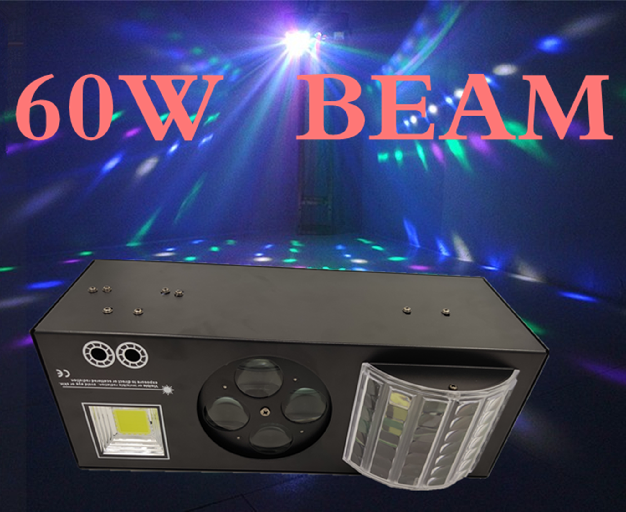 Good Effect LED Patterns Laser Strobe 4 IN 1 Effect Light 4 Eyes Image Light Good Use For DJ Disco Club Home Entertainment KTV