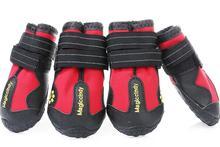4PCS Pet Dog Rain Shoes for Dogs Booties Rubber Portable Anti Slip Waterproof Cat Snowshoe