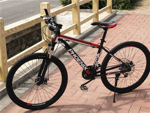 26 Polegada mountain bike mountain bike freio a disco duplo presente cavalo mountain bike