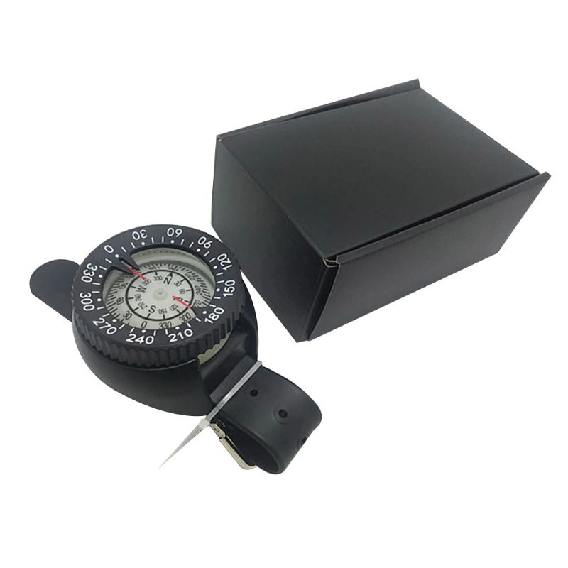 Sturdy Plastic Diving Compass Watch Waterproof Pocket Size Outdoor Camping Hiking Gear Portable Adventure Survival Accessory