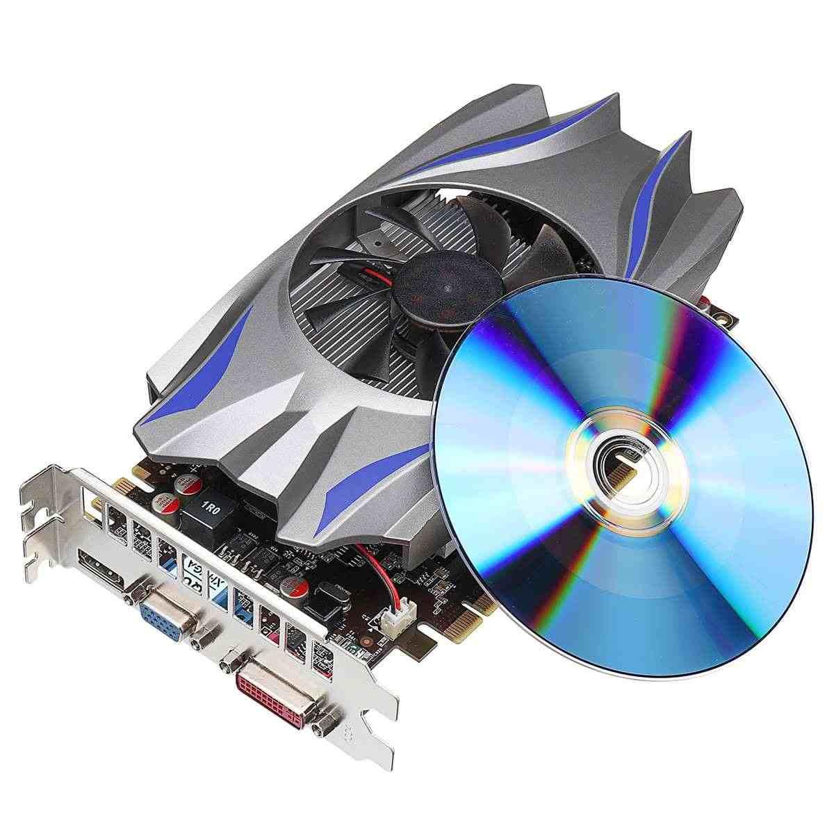 23x12x4 cm Đồ Tùy Chỉnh GTX GTX760 4GB DDR5 128Bit Thẻ Hình Cho DVI HDMI card VGA GeForce HDMI DVI Trò Chơi Sử Dụng