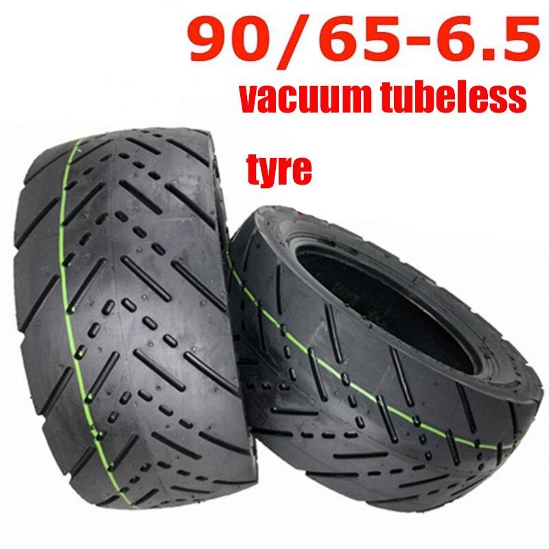 Шины бескамерные 11 дюймов CST, шины для электрического скутера, 11 дюймов, 90/65-6,5, утолщенные шины, наружная шина, вакуумные дорожные шины высоко...