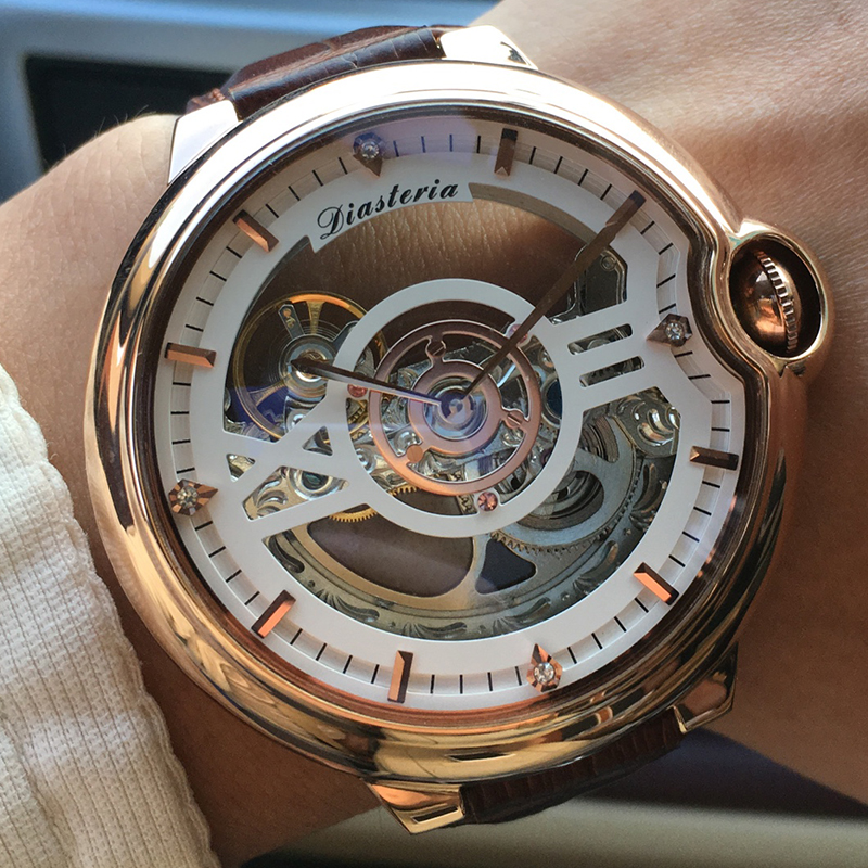 Top Luxury Brand Skeleton Tourbillon Automatic Mechanical Watch Men Fashion Stainless Steel Waterproof Watches Mens Dropshipping