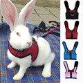 Pet Mesh Weiche Harness Mit Leine Kleine Tier Weste Blei für Hamster Kaninchen Bunny Kleine tier pet zubehör Gürtel blei set