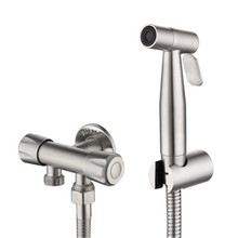 Toilet Bidet Faucet-Sprayer Shower-Head Bathroom Stainless-Steel Self-Cleaning Home