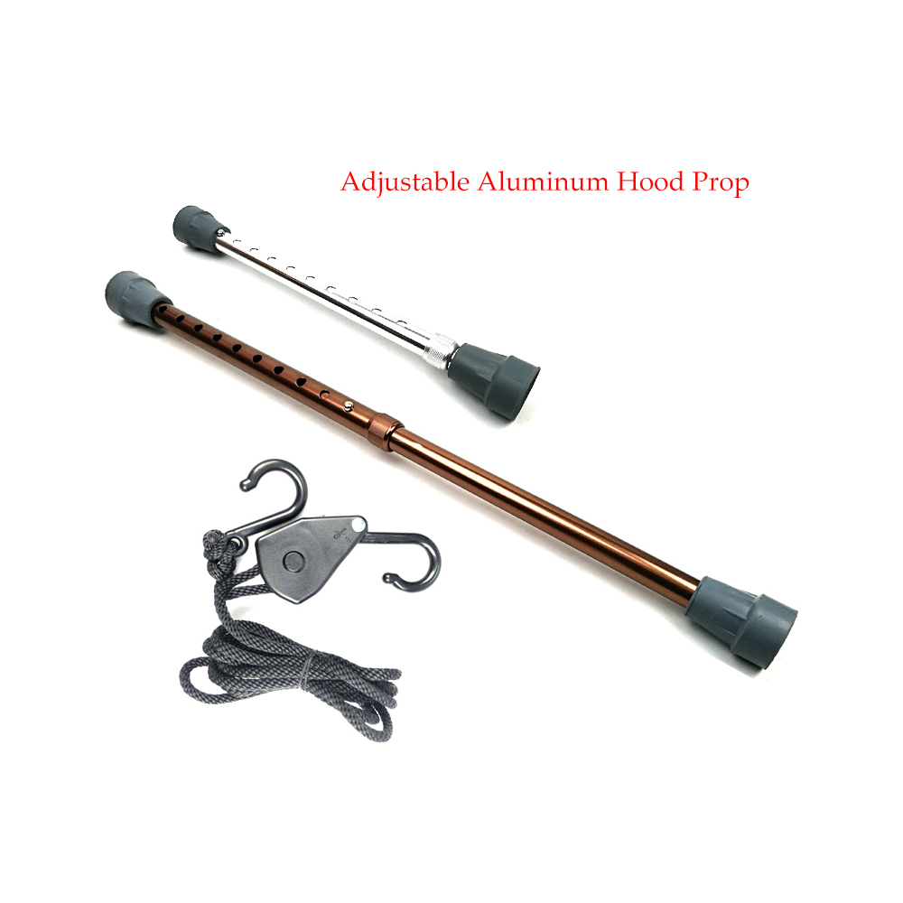 Adjustable Aluminum Hood Prod With Nylon Rope Paintless Dent Repair Accessory Tools PDR Tools