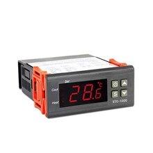 Цифровой Температура контроллер 12V 24V 220V Прохладный& Цельсия термостат с Сенсор STC-1000 для холодильника ферментер