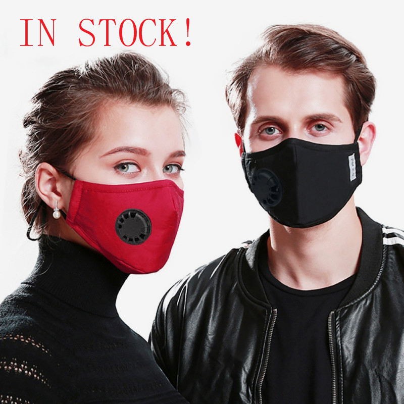 Masks For Germ Protection Respirator Washable Reusable Masks Cotton Unisex Mouth Muffle Allergy/Asthma/Travel/ Cycling