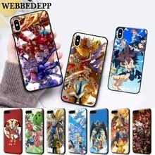 WEBBEDEPP Digimon Adventure Tri Silicone soft Case for iPhone 5 SE 5S 6 6S Plus 7 8 X XS Max XR