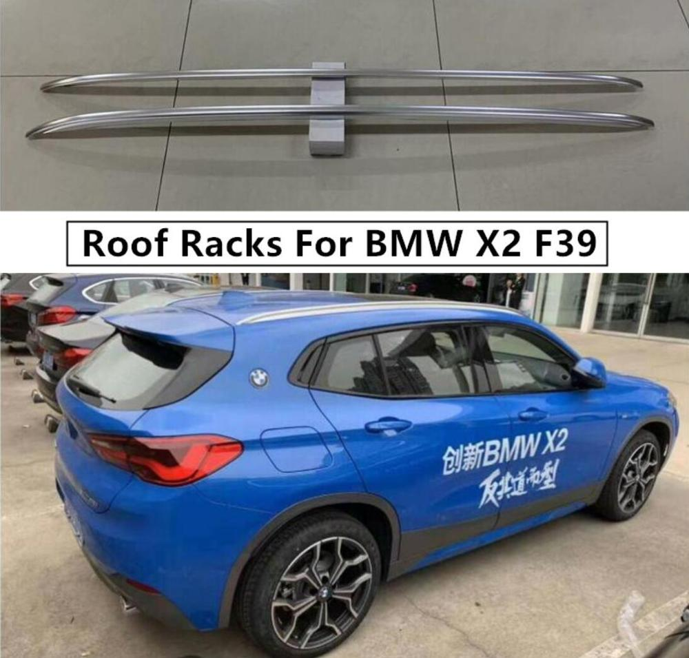 Roof Racks For BMW X2 F39 2018 2019 2020 2021+ Luggage Rack Bar High Quality Aluminium Alloy Car Modification Accessories|Chromium Styling| |  - title=