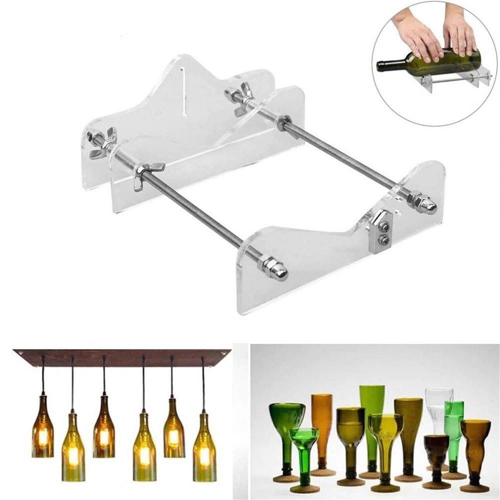 Creative Recycle Glass Beer Wine Bottle Cutter Cutting Machine DIY Crafts Tool Cutting Control Create Glass Sculptures Catchers