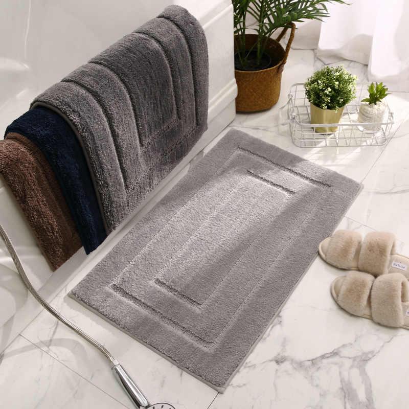 tapis de sol epais absorbant pour salle de bain toilettes porte antiderapant de maison pour chambre a coucher