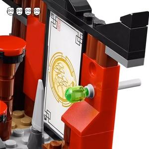 Image 5 - תואם Ninjagoes 70756 דוג ו עימות סט Bela 10319 214pcs עם 4 מיני דמויות אבני בניין צעצועים לילדים ילד מתנות