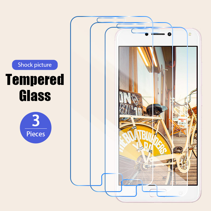 1/2/3 шт Безопасность стекло с округлыми рамками Asus ZC551KL ZC550KL ZC521TL ZC520TL Защитное стекло для планшета Asus ZC520KL ZC500TG ZC451TG спереди фильм