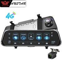 Anstar 10 4G Car RearView Mirror DVR Android 5.1 WiFi ADAS GPS HD 1080P Video Recorder Dash Cam Auto Registrar Car Camera