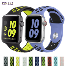 Strap for Apple watch 5 4 band correa apple watch 42mm 38 mm 44mm 40mm iwatch series 4 3 2 silicone pulseira bracelet watchband цена и фото