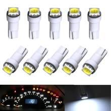 10 x T5, 5050 SMD LED blanco Panel de instrumentos tablero de luz bombilla 74 17 18 37 70 2721
