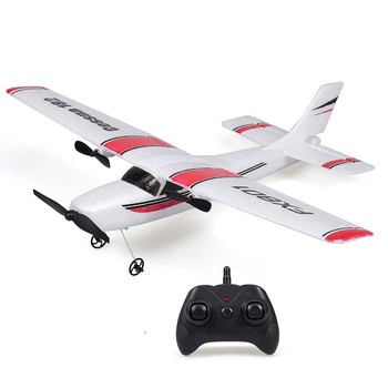 FX801 RC Plane Cessna 182 2.4GHz 2CH RC Airplane Durable 20 Minutes Flying Time Outdoor RC Aircraft Model Toys for Beginner 1