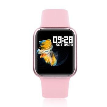 Women Smartwatch P90 Latest Smart Watch Full Touch Screen IP68 Waterproof Fitness Tracker Heart Rate Blood Pressure Clock VS P80