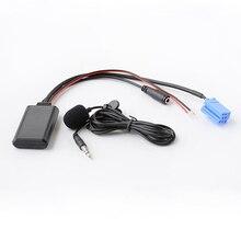 Biurlink Car Radio Bluetooth Audio Microphone Handsfree MIC Adapter ISO 8Pin for Volkswagen Gamma 5