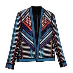 Модный красивый мужской синий пиджак, пиджак с вышивкой, приталенный мужской пиджак, вечерние смокинг, свадебный подарок бойфренду