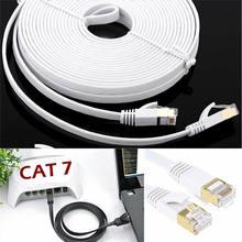 Cat7 Type de réseau par câble Home Office Hôtel Flat Internet par câble Ethernet Type de cordon plat