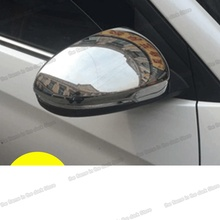 Lsrtw2017 Abs Stainless Steel Car Rearview Cover Protective Trims for Hyundai Tucson 2018 2017 2016 2015 2014 2013 2012 2011 lsrtw2017 abs car gear trims for honda civic 2012 2013 2014 2015 9th civic