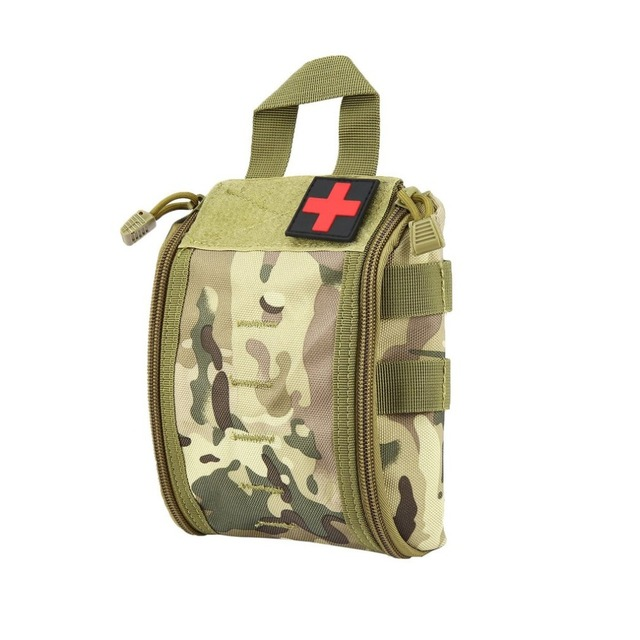 Outdoor Portable First Aid Bag Tactical Medical Storage Bag Multifunctional Waist Pack Pouch Camping Emergency Organizer Bag 1