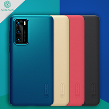 New 2020 For Huawei P40 Case Cover NILLKIN Fitted Cases For Huawei P40 High Quality Super Frosted Shield For Huawei P40 for huawei p40 pro case cover nillkin fitted cases for huawei p40 pro high quality super frosted shield for huawei p40 pro