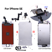 AAA Quality LCD For iPhone 6 LCD Display Touch Screen For iPhone 5 5S SE 5C Full Assembly LCD with Home Button Front Camera стоимость