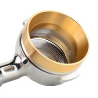 Ecocoffee Aluminium IDR Intelligente Dosierung Ring für Brau schüssel Kaffee pulver für espresso barista werkzeug für 58MM Kaffee Tamper