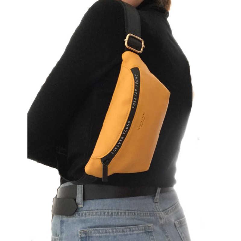 YIZHONG 革高級ブランドファニーパックユニセックス大容量のウエストパック女性のためのベルトバッグ多機能チェストバッグ