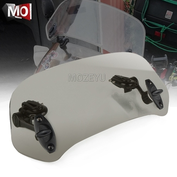 Motorcycle Windshield Extension Spoiler Windscreen Air Deflector For YAMAHA XJ 550 600 650 700 750 900 XJR 1300 400 XMAX 300 - discount item  37% OFF Motorcycle Parts
