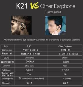 Image 2 - Bluetooth Earphone V4.1 Wireless Earphones Headphones Mini Handsfree Headset 24Hrs Talking with Microphone For iPhone xiaomi
